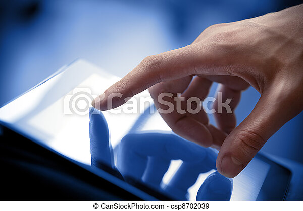 Touching Screen On Tablet PC - csp8702039