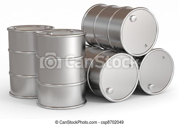 Oil barrels.  - csp8702049