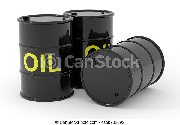 Oil barrels. - csp8702092