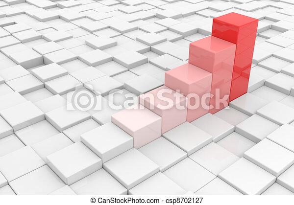 Business statistic. - csp8702127