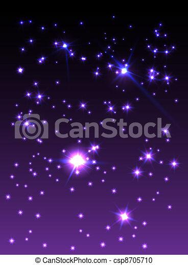 Starry sky - csp8705710