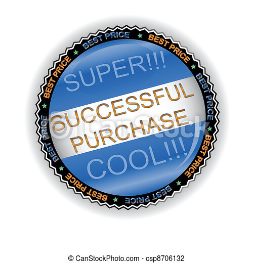 New successful purchase icon - csp8706132