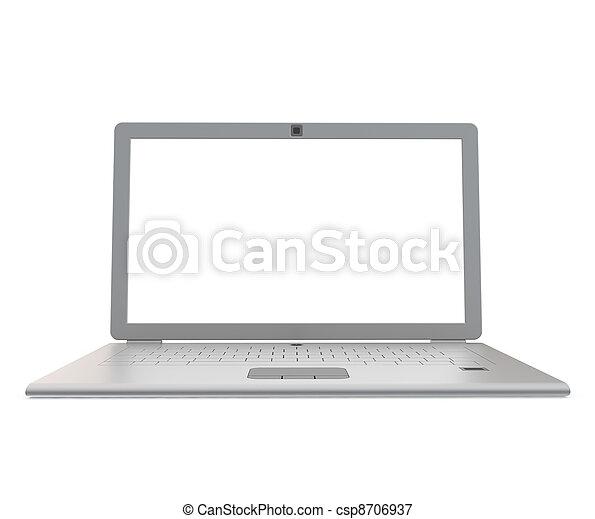 Silver notebook - csp8706937