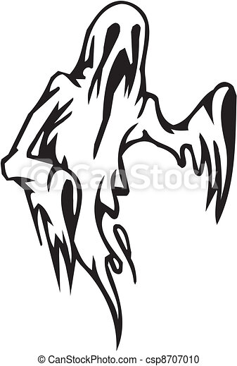 Vector Clipart Of Ghost