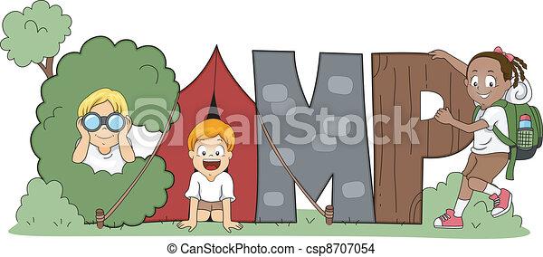 Children's Camp - csp8707054