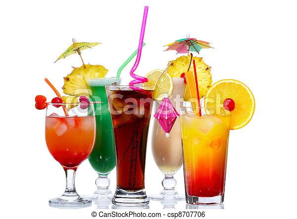 Exotic Cocktails - csp8707706