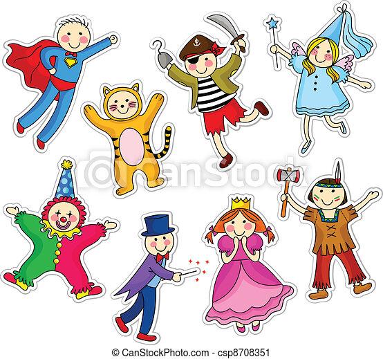 costume party - csp8708351