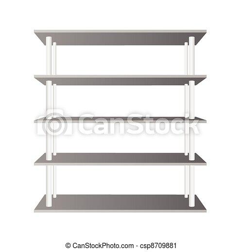 room shelve vector illustration - csp8709881