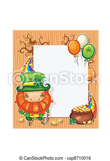 Patrick's Day celebration composit - csp8710016