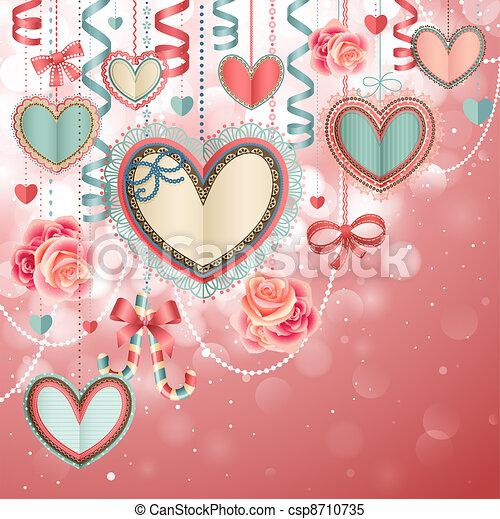 Valentine`s Day - csp8710735