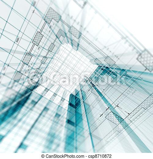 ingenjörsvetenskap, arkitektur - csp8710872