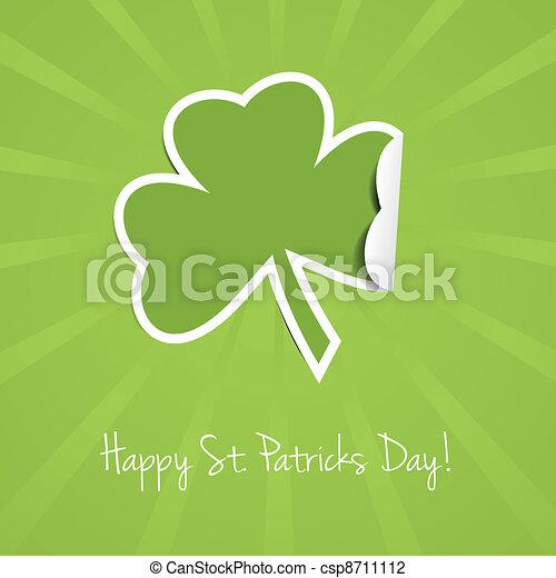 St Patricks Day Background - csp8711112