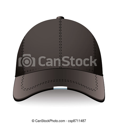 Black sports cap - csp8711487