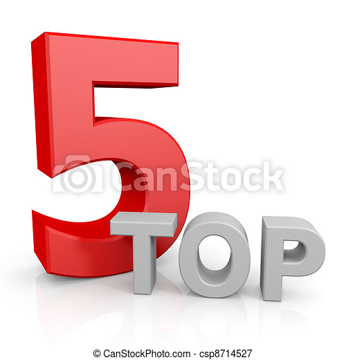 Top five. - csp8714527