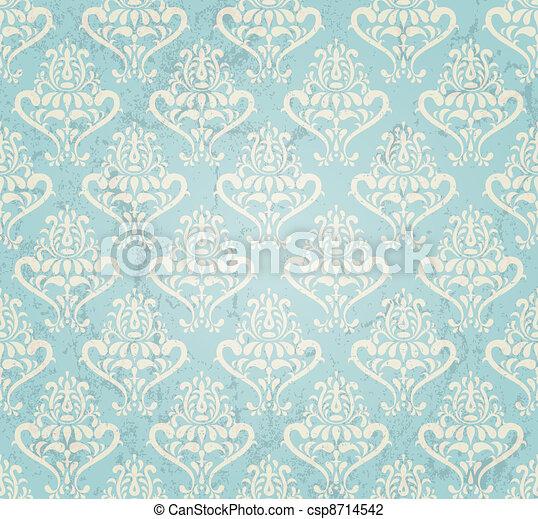 vintage wallpaper - csp8714542