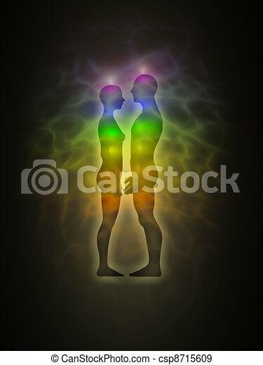 Human aura - profile - csp8715609