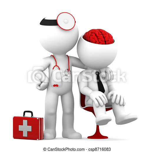 Doctor and patient - csp8716083