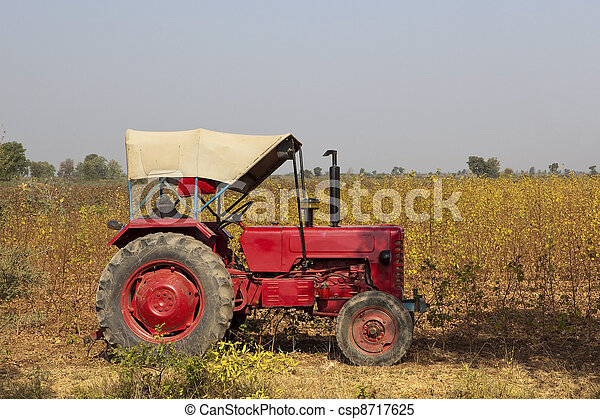 indian agriculture - csp8717625