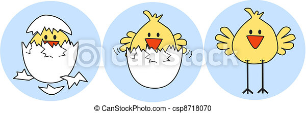 happy easter - csp8718070