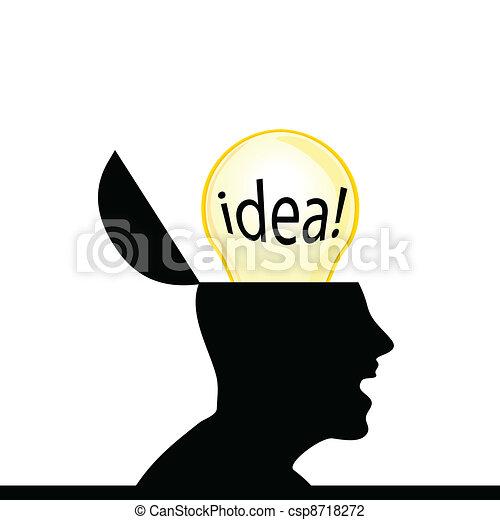 fantastic idea for man - csp8718272