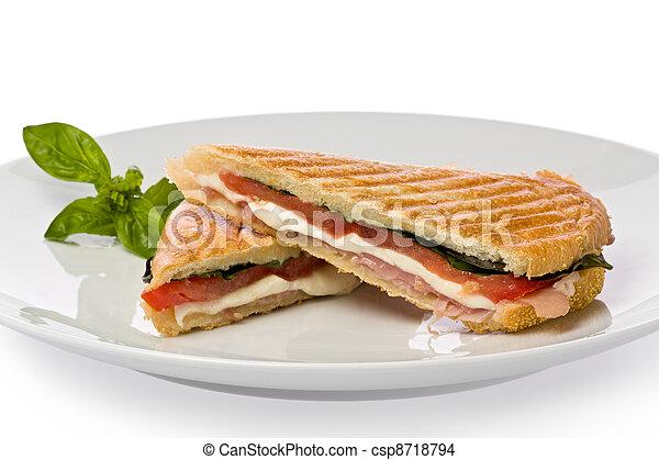 Panini Sandwich - csp8718794