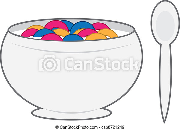 Bowl of Cereal  - csp8721249