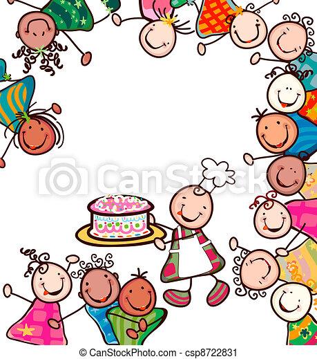 kids smiling - csp8722831