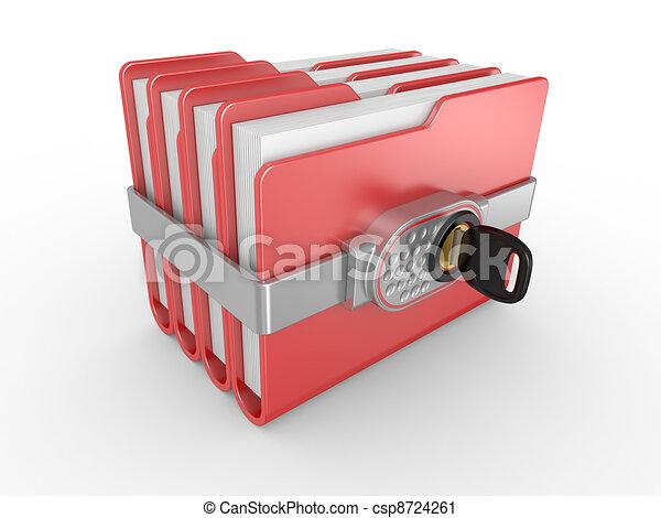 Private documents folder - csp8724261
