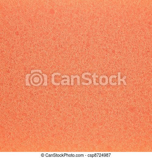 bilder von orange gummi schaum beschaffenheit orange schaum csp8724987 suchen sie. Black Bedroom Furniture Sets. Home Design Ideas