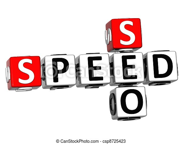 3D Get Speed Test Cheap Crossword - csp8725423