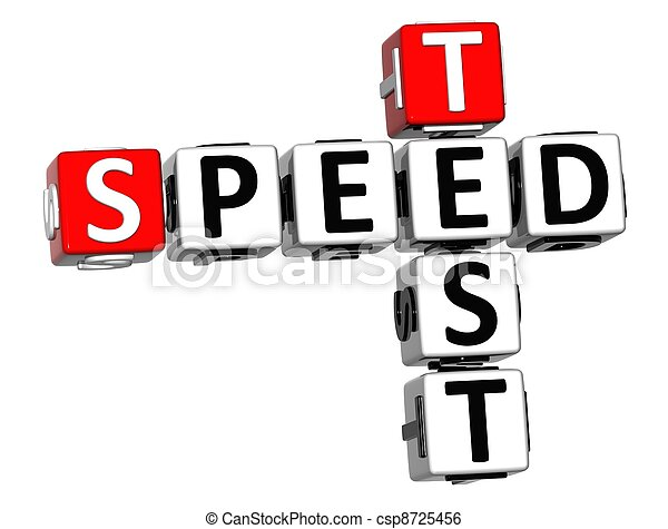 3D Get Speed Test Cheap Crossword - csp8725456