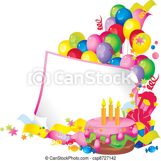 Happy Birthday - csp8727142