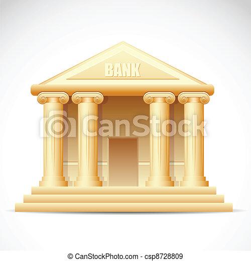 Bank Building - csp8728809