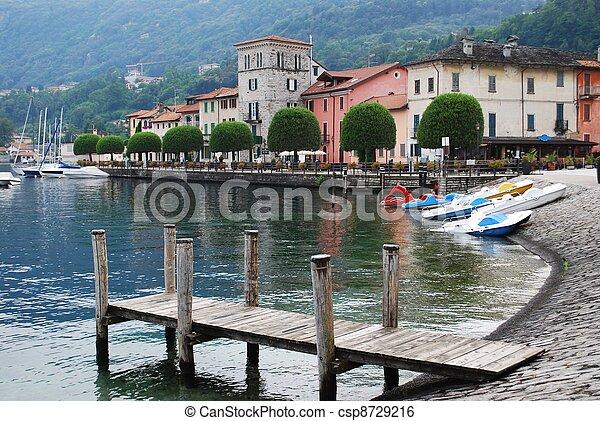 Orta lake, Italy - csp8729216