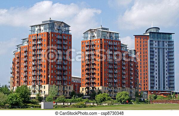 Images de blocs appartement moderne modern for Palazzine moderne