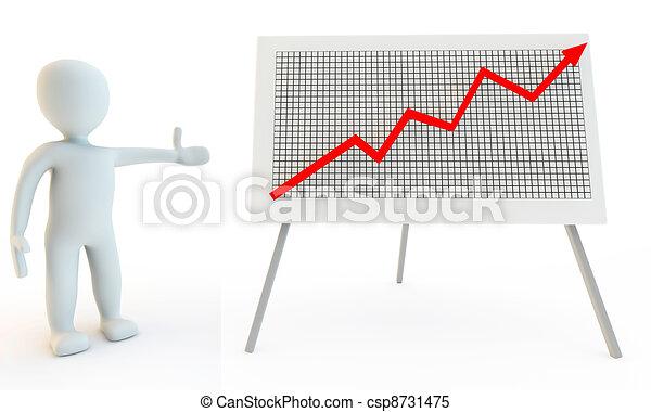illustrations de graphique caract re diagramme humain 3d 3d humain csp8731475. Black Bedroom Furniture Sets. Home Design Ideas