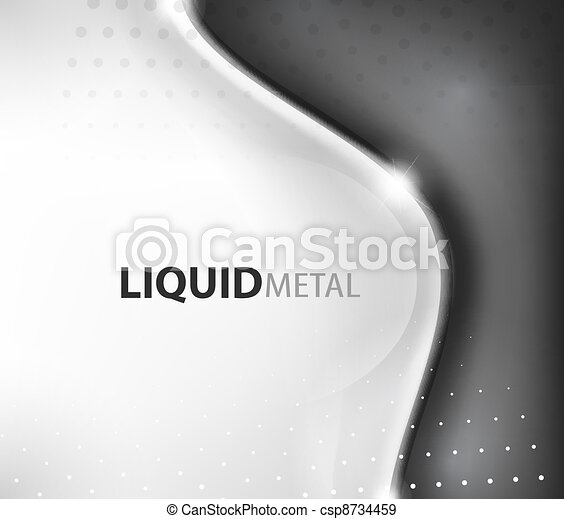 Abstract flowing wave busness background - csp8734459