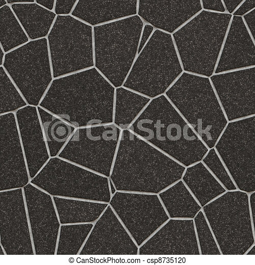 Stone Slab Seamless Pattern - csp8735120