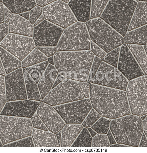 Stock Illustration Of Stone Slab Seamless Pattern Hyper Realistic Bitmap Rendering Csp8735149