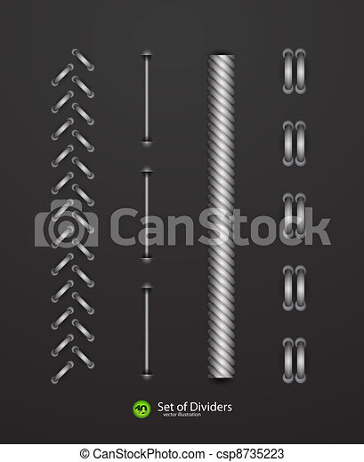 Vector dividers - csp8735223