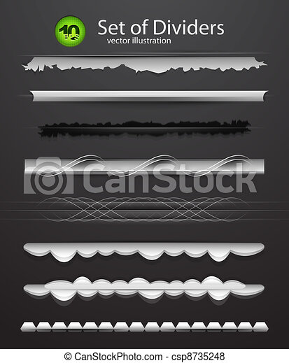 Vector divider set - csp8735248