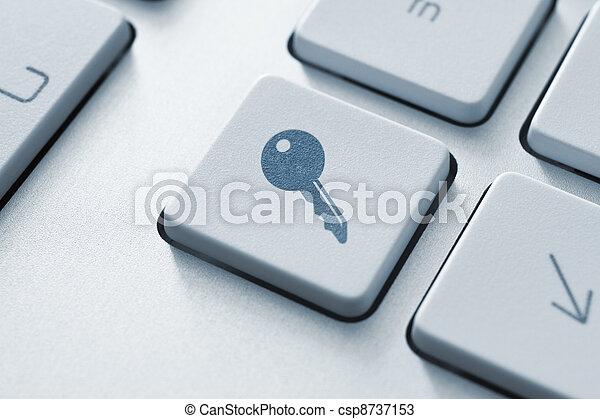 Access Button - csp8737153