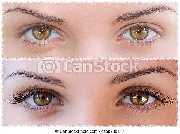 False eyelashes - csp8738417