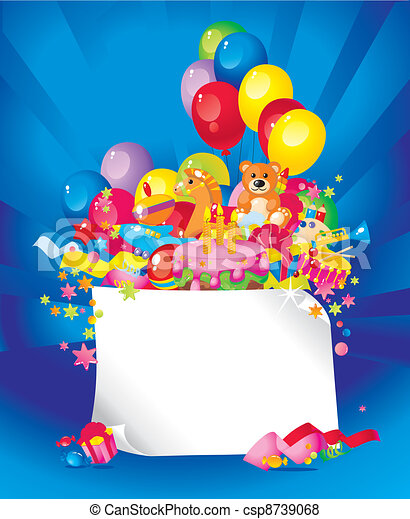 Children's birthday - csp8739068