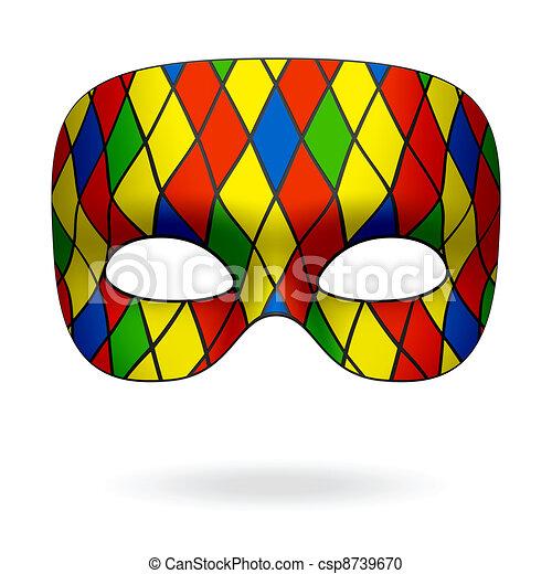 Harlequin mask - csp8739670