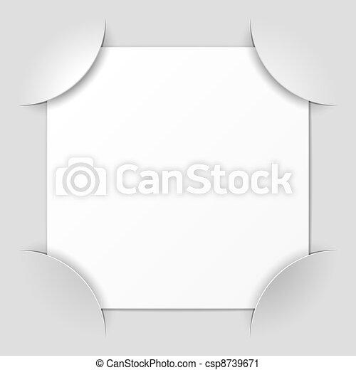 Photo frame corners - csp8739671