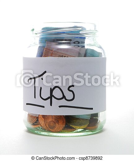 tip jar - csp8739892