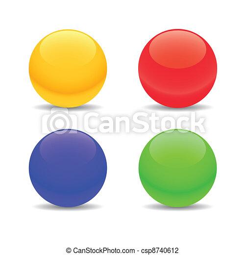 Four spheres - csp8740612