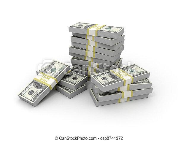 Money - csp8741372
