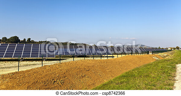 France photovoltaic power station - csp8742366